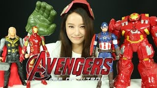 getlinkyoutube.com-어벤져스 에이지 오브 울트론 헐크버스터 아이언맨 토르 캡틴 아메리카 타이탄 히어로 테크 장난감 헐크 캐리 마블 The Avengers Age of Ultron Toys