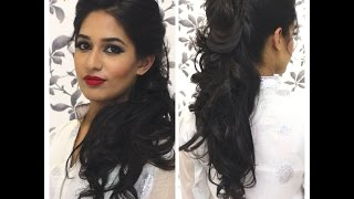 getlinkyoutube.com-TUTORIAL: Indian Party Hairstyle