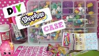 getlinkyoutube.com-DIY Shopkins Carrying Case! How To Guide On How To Make Your OWN Shopkins 1,2 & 3 Collectors Case!
