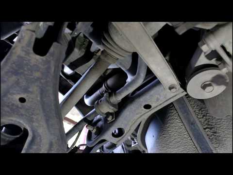 ... C Crosser 2,4 Ситроен Си Кроссер 2007 Замена втулок заднего стабилизатора
