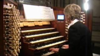 getlinkyoutube.com-Catedral de Notre Dame de París LIUDMILA MATSYURA JS Bach Choral Komm, Heiliger Geist BWV 651