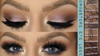 "getlinkyoutube.com-NEW FLOWER Palette Eye Look & HIGHLIGHT ""Lift & Sculpt Contouring Palette"""