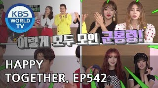 Happy Together I 해피투게더 - AOA, Ji Jinhee, GFRIEND, etc [ENG/2018.06.14]