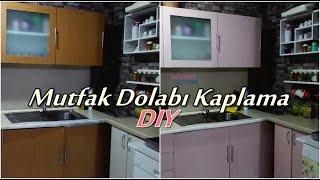 getlinkyoutube.com-Mutfak Dolabı Kaplama - Kendin Yap - DIY | Dibubeke