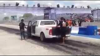 getlinkyoutube.com-หมูหยอง 7 Racing Drag วีโก้ โรงแก้ว 8.0 สนามบุรีรัมย์