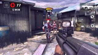 getlinkyoutube.com-Dead Trigger 2. SPAS & KSG. Tech 10. Hard