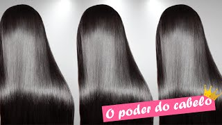 getlinkyoutube.com-Técnica do bicarbonato para abertura de cutícula e ajudar no alisamento dos cabelos