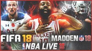 Madden 18, NBA Live 18, FIFA 18 Gameplay Demos Announced!