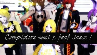 getlinkyoutube.com-MMD X FNAF / DANCE !