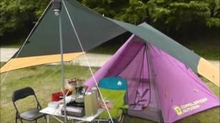 getlinkyoutube.com-新しいテントでファミリーキャンプ
