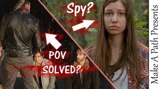 getlinkyoutube.com-The Walking Dead Season 7 Negan Death Clues & Enid is a SPY for the Saviors?