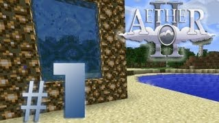 getlinkyoutube.com-Minecraft Aether #1 - Das Portal zum Himmel
