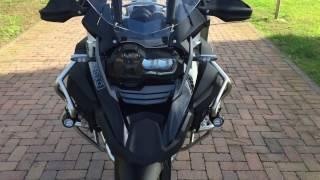 getlinkyoutube.com-Bmw R 1200 Gs Adventure 2017 triple black akrapovic rallye seat