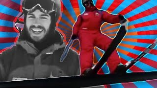 getlinkyoutube.com-How to Ski on Rails for Beginners — Jump into a terrain park and start doing tricks