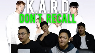 getlinkyoutube.com-K.A.R.D | DON'T RECALL MV Reaction
