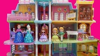 getlinkyoutube.com-ちいさなプリンセスソフィア/アナと雪の女王おもちゃ/ マジカル・ロイヤル・プレップ・アカデミー/Magical Royal Prep Academy