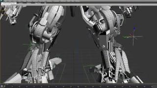 getlinkyoutube.com-Hyundai Sonata 2012 Rigging Test - Transformers, 3ds, max, photo-real, 3d, model, cg, vray, robot