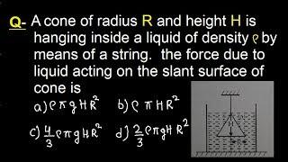 Physics Problem Solving (Q -38), IIT-JEE physics classes