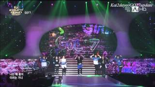 getlinkyoutube.com-[1080p HD] 140403 GOT7 Cuts ღ Spring Special on M! Countdown