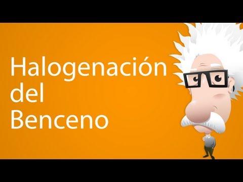 Halogenación del benceno