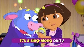 getlinkyoutube.com-Dora The Explorer : Dora Rocks! Sing-Along Party!