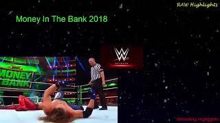 AJ Styles vs Shinsuke Nakamura Part 2  WWE Money In The Bank 2018 Highlights