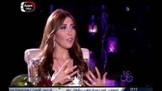 getlinkyoutube.com-Manal Ajaj on Syria Drama with Misa Saboh 3BAK P (1)