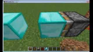 getlinkyoutube.com-Minecraft l Sınırsız Diamond Makinası.
