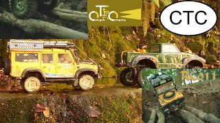 getlinkyoutube.com-Offroad Bridge Passing - Winch Work - Land Rover Camel Trophy - RC Scale CTC - RC 011