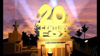 getlinkyoutube.com-20th Century Fox 75 years logo remake