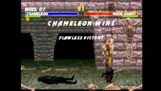 getlinkyoutube.com-Mortal Kombat Trilogy (PSX) - Longplay as Chameleon
