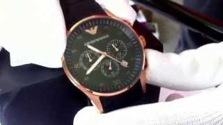 getlinkyoutube.com-Zegarek Emporio Armani AR5905 Luksus na twej dłoni!