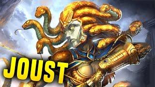 Medusa Is Crazy! What A Comp! | Smite Medusa Joust Gameplay (Medusa Build)