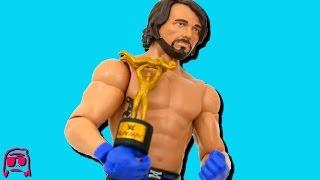 getlinkyoutube.com-AJ Styles WWE Smackdown Live Mattel Toy RARE CHASE SLAMMY VARIANT Basic 68.5 Review!!