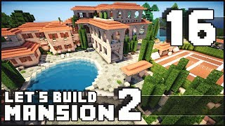 getlinkyoutube.com-Minecraft: How To Make a Mansion - Part 16 - Let's call it Done! + Download