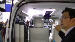 getlinkyoutube.com-ハイエース キャプテンシート4席 両側スライドドア 3ナンバー 10人乗り トヨタ車体 特別架装 東京モーターショー2013 The 43rd TOKYO MOTOR SHOW 2013