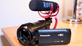 getlinkyoutube.com-My Affordable YouTube 4K Video Camera - Panasonic HC VX870 Unboxing & Review