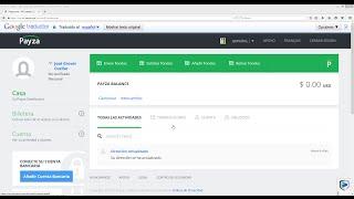 getlinkyoutube.com-Agregar saldo   fondos y verificar Payza 2015