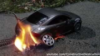 getlinkyoutube.com-RC car burnout ends in flames
