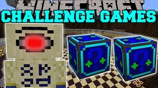 getlinkyoutube.com-Minecraft: SAND BEAST CHALLENGE GAMES - Lucky Block Mod - Modded Mini-Game