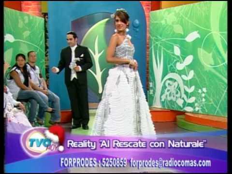 Moda de reciclaje Forprodes-TVO Hoy