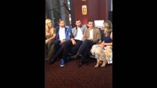 getlinkyoutube.com-ET interview with Hannibal cast on Periscope