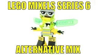 getlinkyoutube.com-LEGO MIXELS SERIES 6 WUZZO & SLUSHO ALTERNATIVE MIX WUSHO