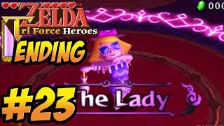 getlinkyoutube.com-The Legend of Zelda Triforce Heroes - ENDING Boss Gameplay Walkthrough Part 23 -   [ 3DS ]