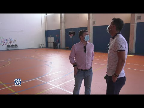 Mejoras en el complejo deportivo de Sabinillas