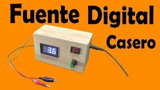 getlinkyoutube.com-Cómo Hacer Una Fuente Digital Casero (muy fácil de hacer)