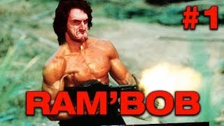 getlinkyoutube.com-RAMBOB - Ep.1 - Playthrough sur Rambo avec Bob Lennon