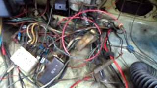 getlinkyoutube.com-1970 VW Beetle Wiring Problems