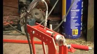getlinkyoutube.com-Tyre Bead Breaker - Spaldings New Hydraulic Dual Bead Breaker Video