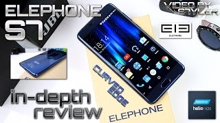 getlinkyoutube.com-Elephone S7 (In-Depth Review) 4GB/64GB, Fingerprint Scanner, Helio X20, Android 6.0, Curved 2.5D
